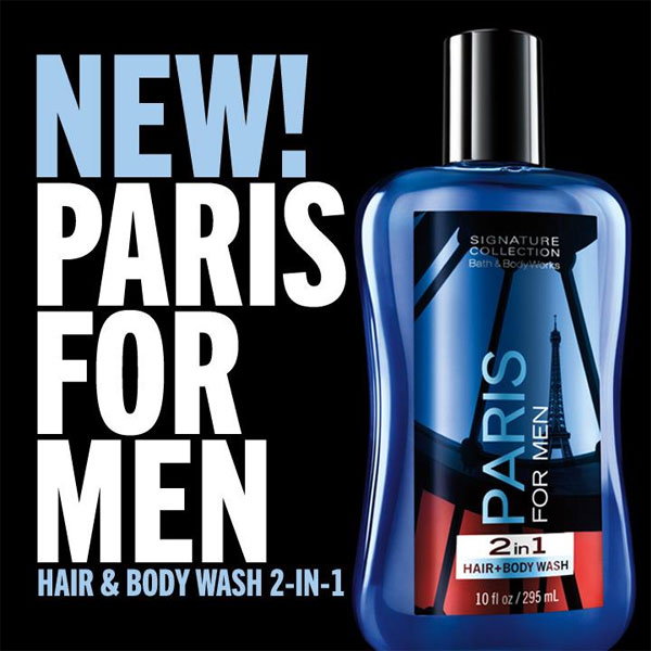 Bath Amp Body Works Paris For Men Bath Fragrance Body