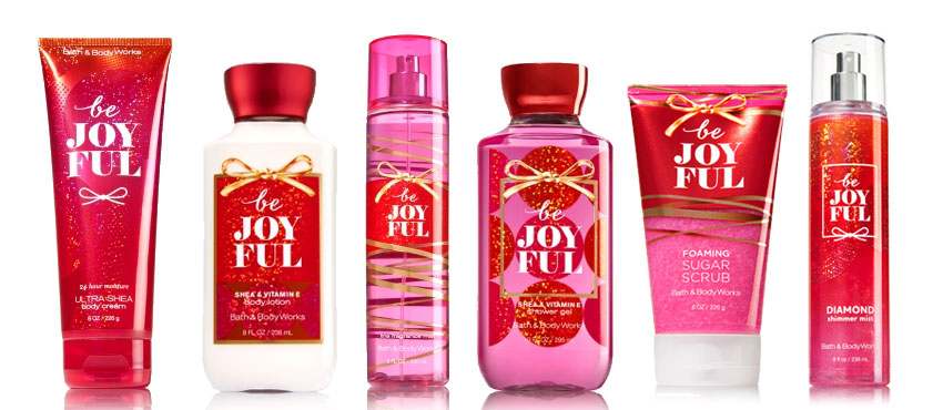 Bath body works be joyful fragrance collection the for Bathroom body works