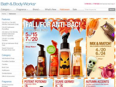Bath Body Works Halloween Collection Bath Fragrance Fashion