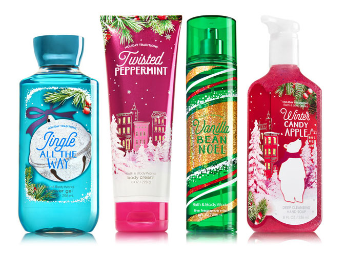 Bath & Body Works Holiday Traditions fragrance collection - The ...