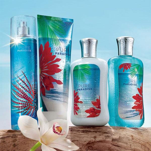 Bath Amp Body Works Pure Paradise Bath Fragrance Body