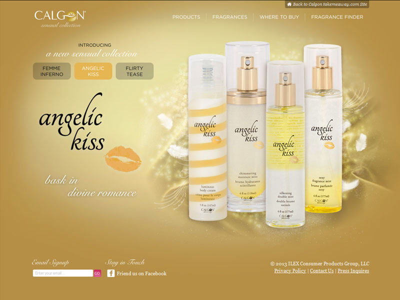 Calgon Sensual Collection Bath Fragrance - Body scent collection