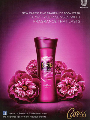 Caress Tempting Whisper body wash