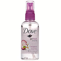 Dove Bath and Body collection fragrances