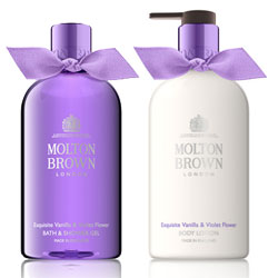 Molton Brown Exquisite Vanilla and Violet Flower
