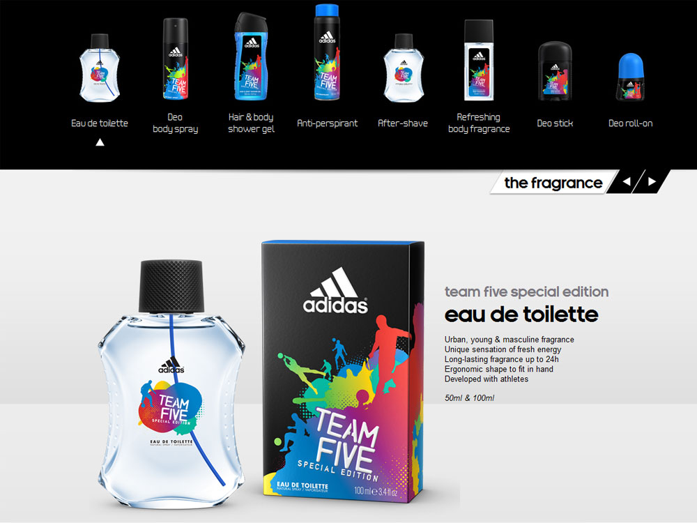adidas body fragrance | John Callow