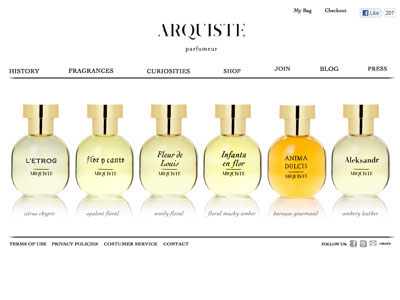 Arquiste Nanban Website