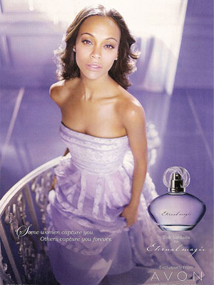 Zoe Saldana, Avon Eternal Magic fragrance