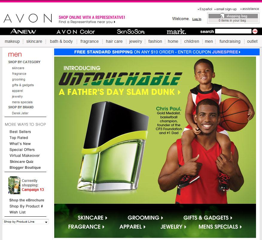 Avon Untouchable cologne an aromatic fragrance for men