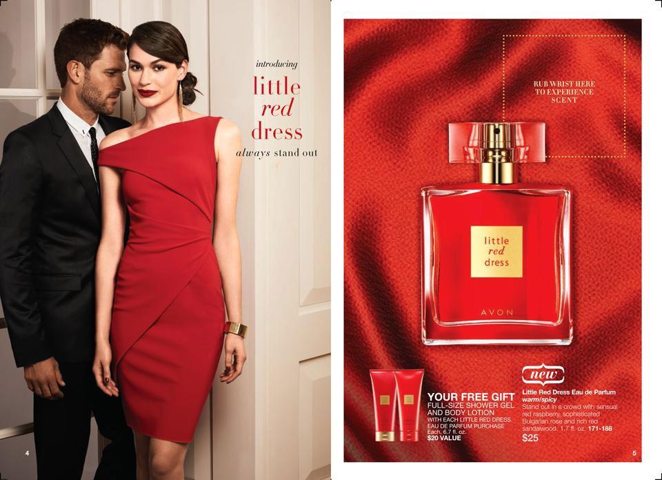 Avon Little Red Dress Avon Little Red Dress Perfume