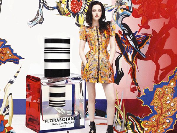 Balenciaga Florabotanica perfume Kristen Stewart advert