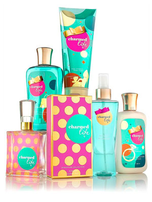 Charmed life by bath body works fragrances perfumes for Bath and body works discontinued scents 2017