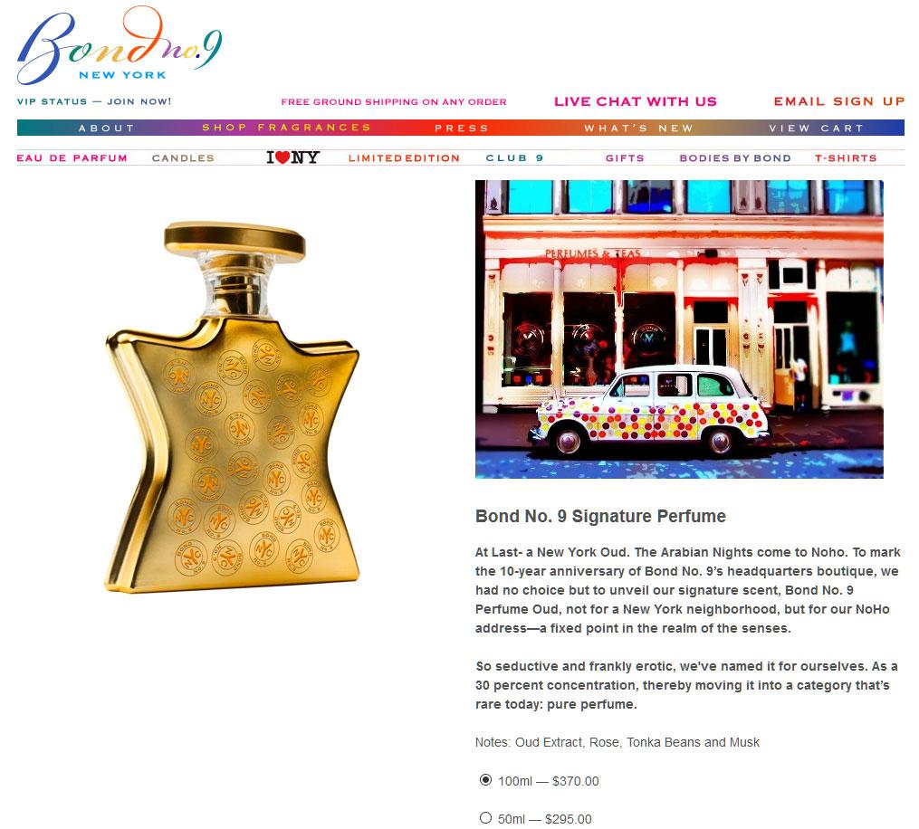 Bond No9 Signature Perfume Perfumes Colognes Parfums Scents No 9 Queen Edp 100ml Website