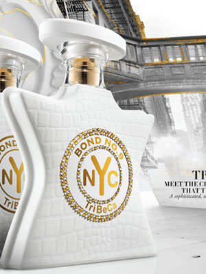 Bond No. 9 Tribeca perfume ad