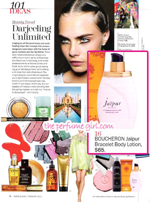 february 2013 magazine perfume ads fashion fragrances
