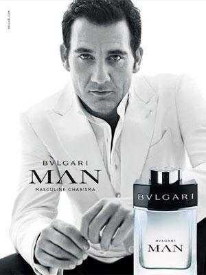 Clive Owen Bulgari Man fragrance
