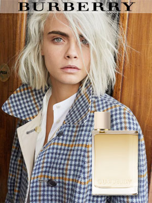 Burberry Her London Dream ad Cara Delevingne