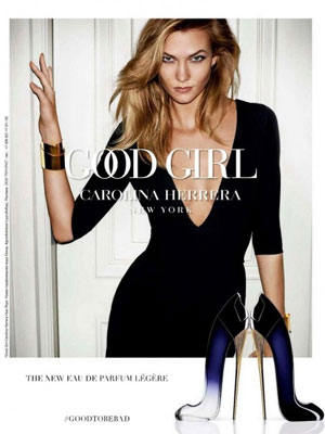 Carolina Herrera Good Girl Legere perfume ad