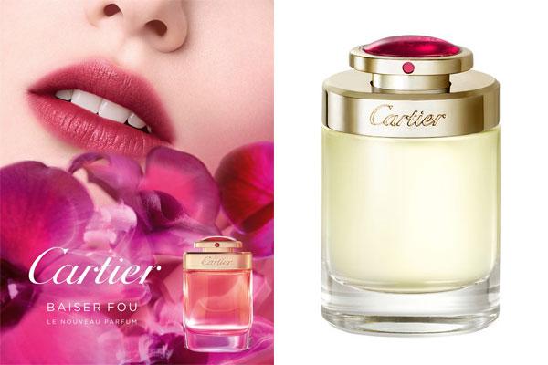 Cartier Floral New Perfume Women Baiser Fou For 76IYgbfvmy