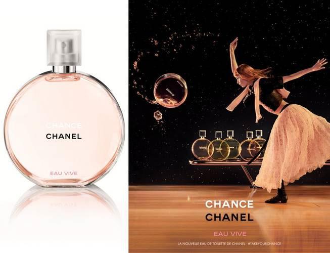 Chance chanel eau vive campaign