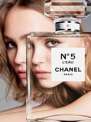 Chanel No.5 L'Eau Perfume Ads