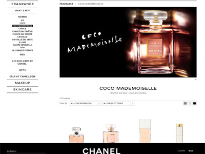 Chanel Coco Mademoiselle - Perfumes, Colognes, Parfums ...