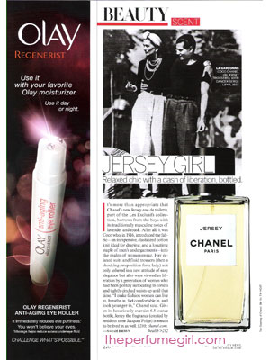 Chanel Jersey perfume