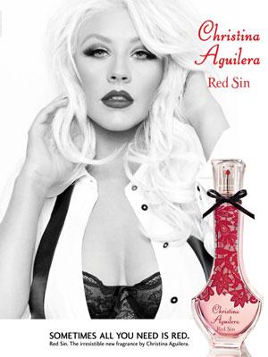 christina aguilera red sin perfume fruity floral fragrance. Black Bedroom Furniture Sets. Home Design Ideas