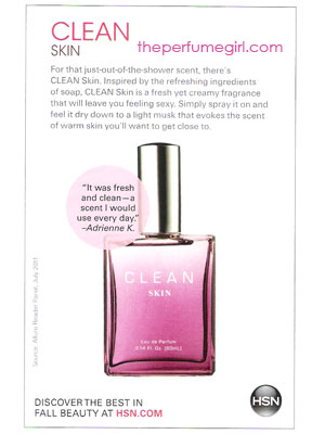clean perfume scents