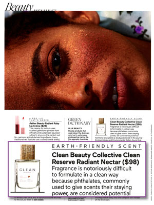Clean Reserve Radiant Nectar editorial Elle magazine