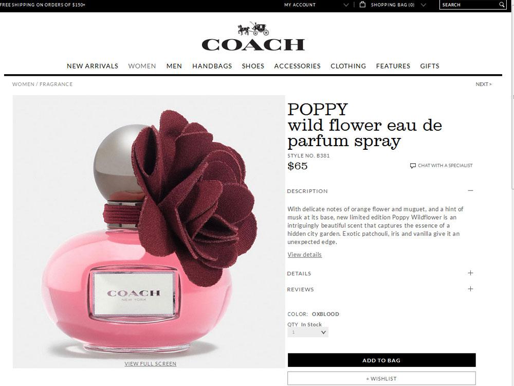 Coach poppy wildflower perfume floral fragrance for women perfume coach poppy wildflower website mightylinksfo