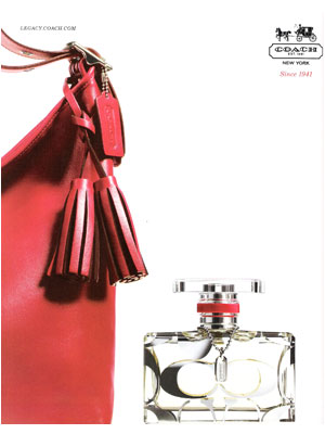 Coach perfume ad