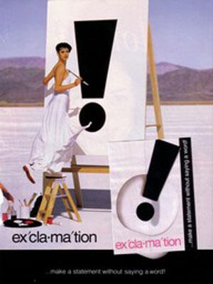 exclamation perfume