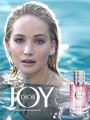 Perfume shop celebrity nose of the year