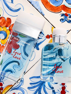 Dolce & Gabbana Light Blue Love is Love fragrances
