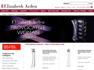 Provocative Interlude Elizabeth Arden Fragrances ...