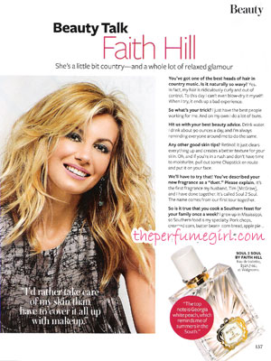 Soul 2 Soul Faith Hill Perfume
