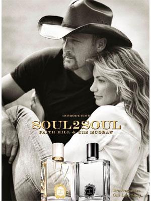 Faith Hill Soul2Soul perfume  celebrity endorsement ads