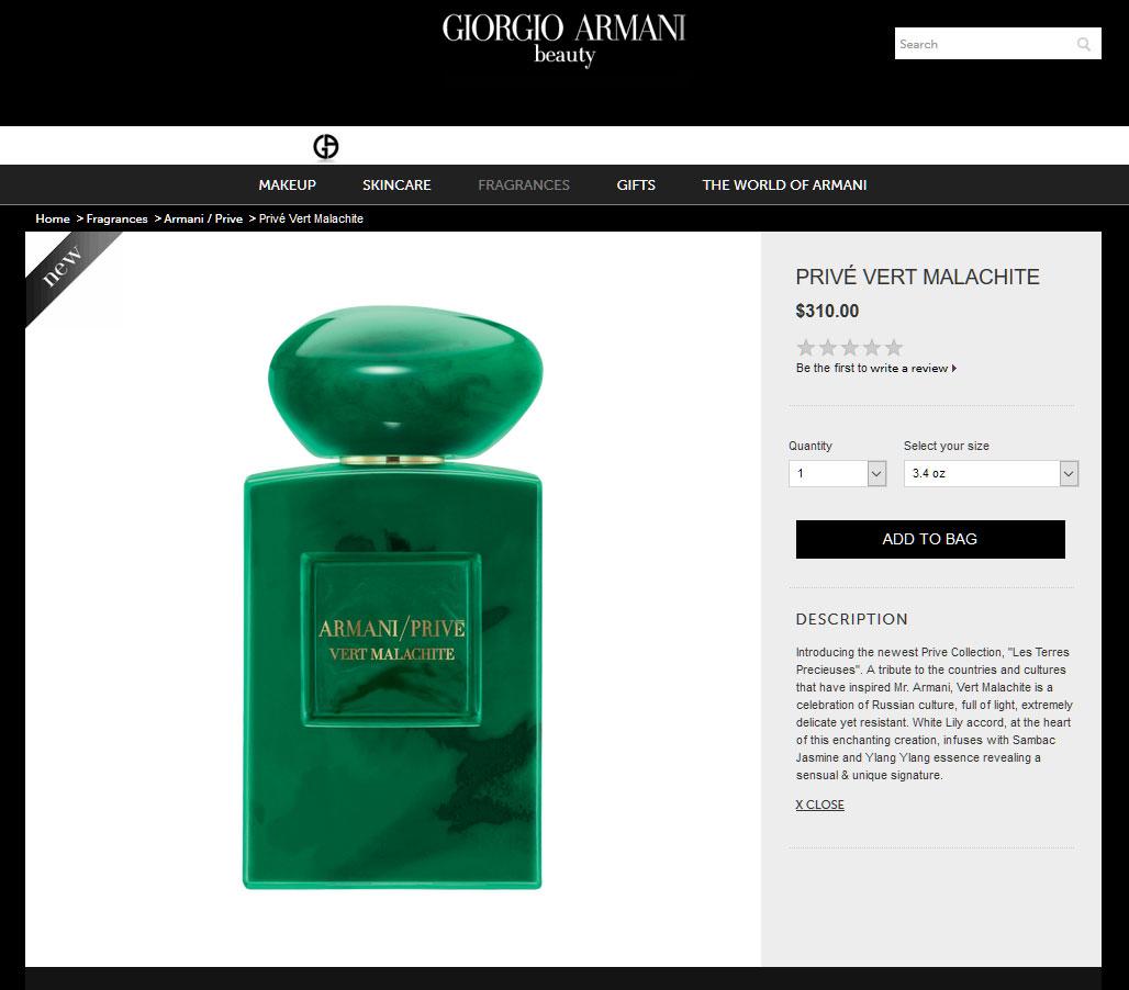 Giorgio armani vert malachite perfumes colognes - Vert de malachite ...