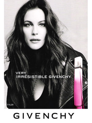 Liv Tyler Givenchy celebrity endorsement ads