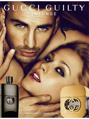 Evan Rachel Wood Gucci Guilty Intense perfume celebrity endorsements