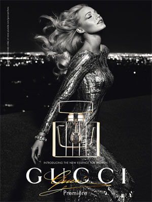 Gucci Premiere perfume Blake Lively ad