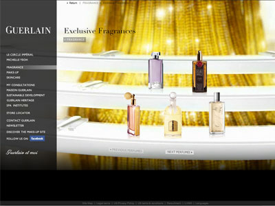 Guerlain Muguet website