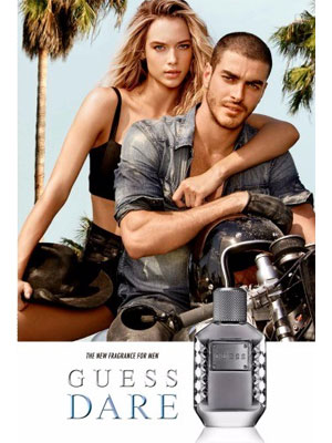 Guess Dare for Men Ad - model Gui Fedrizzi
