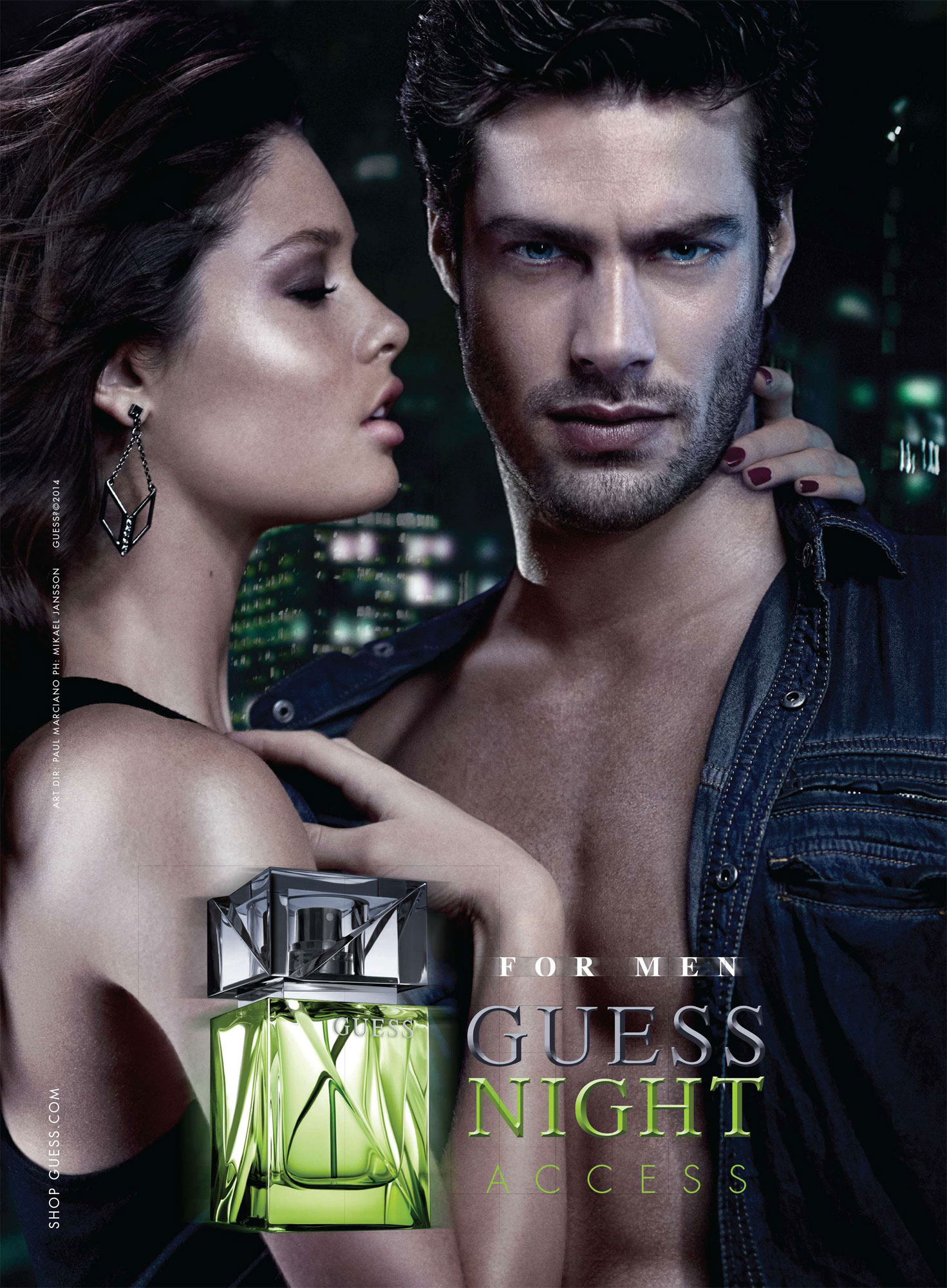 Guess Night Access Perfumes Colognes Parfums Scents