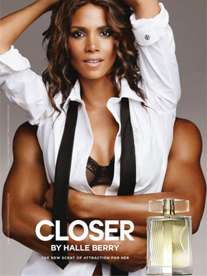 Closer by Halle Berry perfume advert