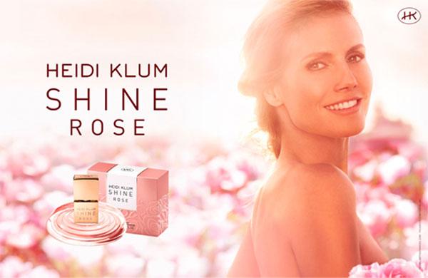 heidi klum shine my rose fragrances perfumes colognes. Black Bedroom Furniture Sets. Home Design Ideas