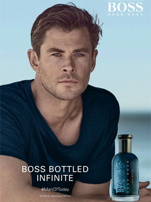 Hugo Boss BOSS Bottled Infinite fragrance ads