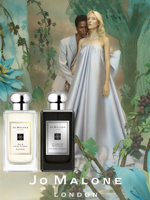 Jo Malone Lost in Wonder ad Fig & Lotus Flower and Cypress & Grapevine