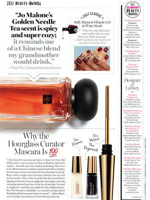 Glamour Beauty Awards 2017 Editorial